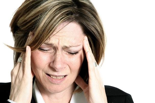 при мигрени